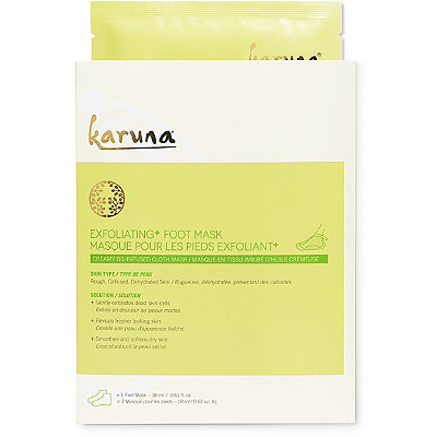 KarunaOnline Only Single Exfoliating+ Foot Mask