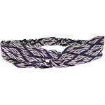 Capelli New York Head Wrap Blurry Diamond Blue Combo