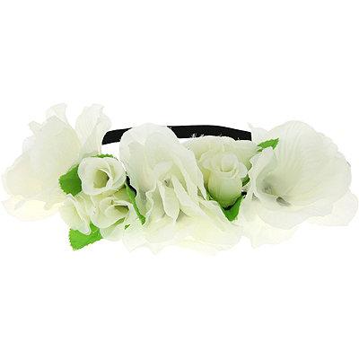 Capelli New YorkHead Wrap Multi Flower Ivory