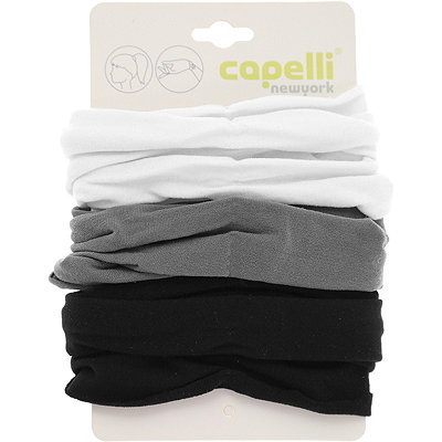 Capelli New YorkTwister Solid Black Combo