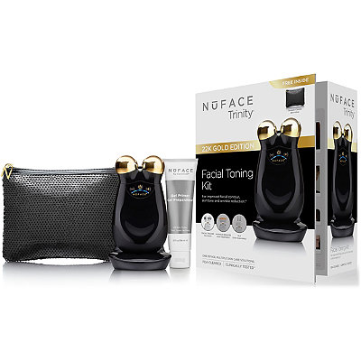 Nuface Online Only Trinity Chic Black Facial Toning Device