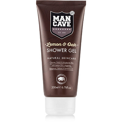 ManCave Online Only Lemon %26 Oak Shower Gel