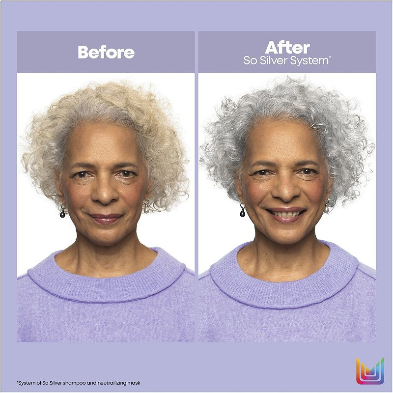 Matrix Total Results So Silver Shampoo For Blonde And Silver Hair Ulta Beauty