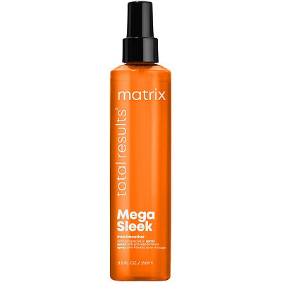 Total Results Mega Sleek Iron Smoother Defrizzing Leave-In Spray