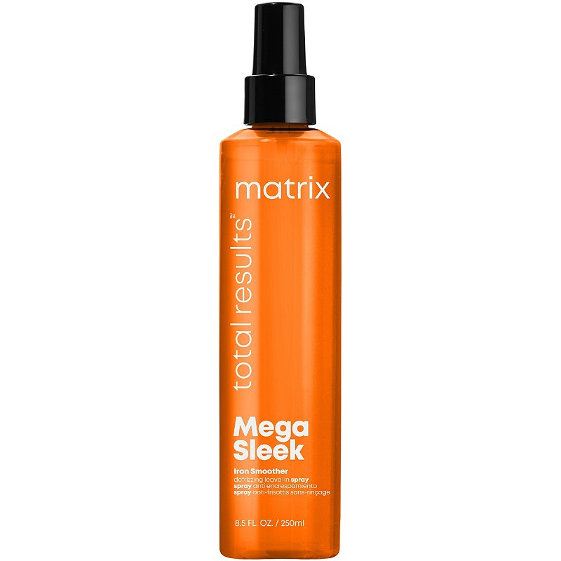 Matrix Total Results Mega Sleek Iron Smoother Defrizzing Leave In Spray Ulta Beauty
