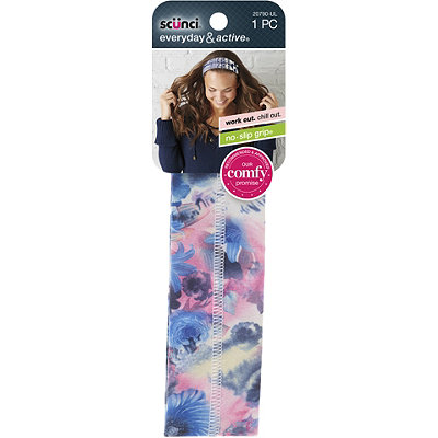 ScünciNo Slip Printed Center Seam Head Wrap