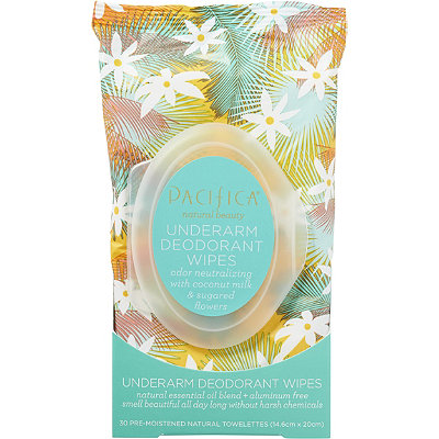 Underarm Deodorant Wipe with Coconut Milk & Sugared Flowers