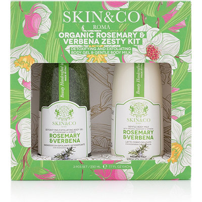 SKIN&CO Online Only Rosemary %26 Verbena Zesty Gift Set
