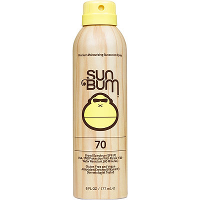 Sun Bum Premium Moisturizing Sunscreen Spray SPF 70