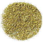 NYX Professional Makeup Face and Body Glitter Gold