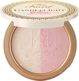 Too Faced Candlelight Glow Highlighting Powder Duo Rosy Glow