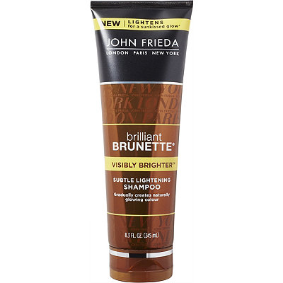 John Frieda Brilliant Brunette Visibly Brighter Lightening Shampoo