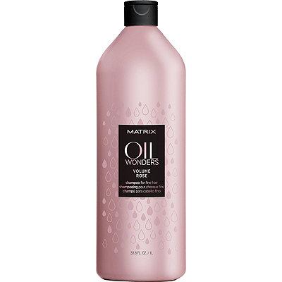 Oil Wonders Volume Rose Shampoo For Fine Hair