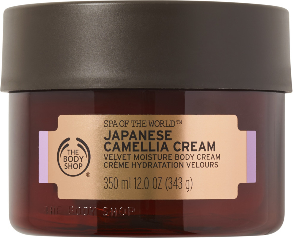 The Body Shop Spa Of The World Japanese Camellia Body Cream Ulta