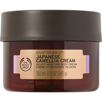 Spa of the World Japanese Camellia Body Cream