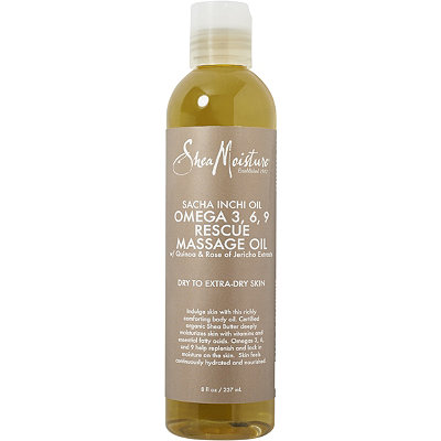 SheaMoisture Sacha Inchi Omega 3%2C6%2C9 Rescue %26 Replenishing Massage Oil