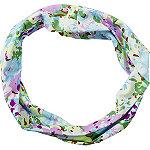 RivieraHead Wrap Floral Print