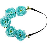Riviera Head Wrap Garland Carnation Flower
