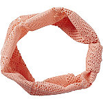 RivieraHead Wrap Crochet Orange