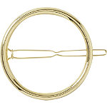 Riviera Barrette Gold Circle