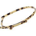 Headband Skinny Acrylic Tort Bow