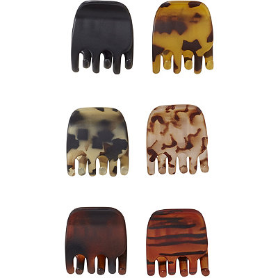 Matte Tortoise Claw Clips