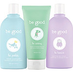 3-Piece Natural Bath Gift Set For Kids