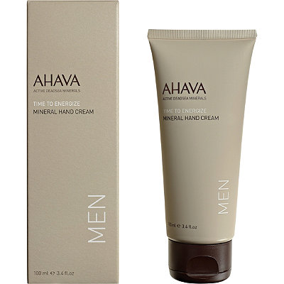 Ahava Online Only Mens Time To Energize Mineral Hand Cream