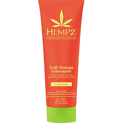 HempzLimited Edition Goji Orange Lemonade Herbal Body Wash