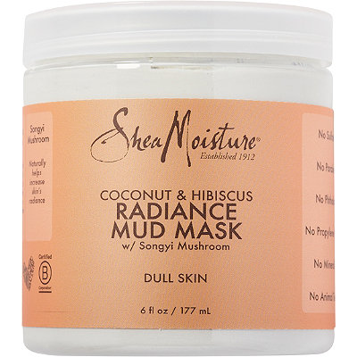 SheaMoisture Coconut %26 Hibiscus Radiance Mud Mask