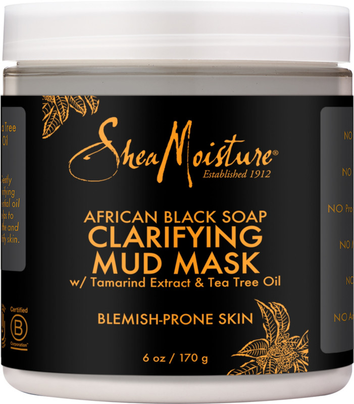 African Black Soap Clarifying Mud Mask by SheaMoisture #22