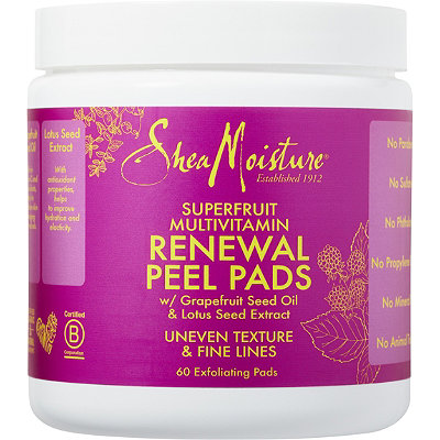 SheaMoisture SuperFruit Renewal Facial Peel Pads