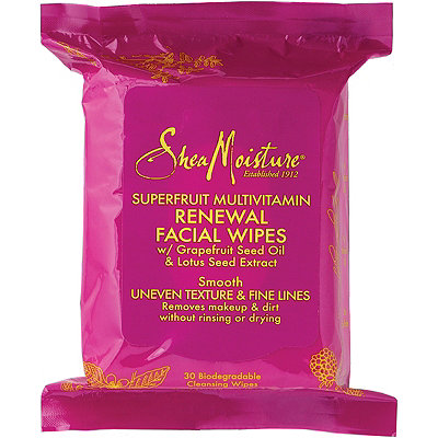 SheaMoisture Superfruit Multivitamin Renewal Cleansing Facial Wipes