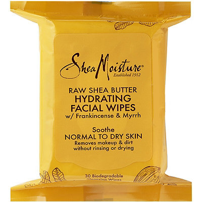 SheaMoisture Raw Shea Butter Hydrating Cleansing Facial Wipes