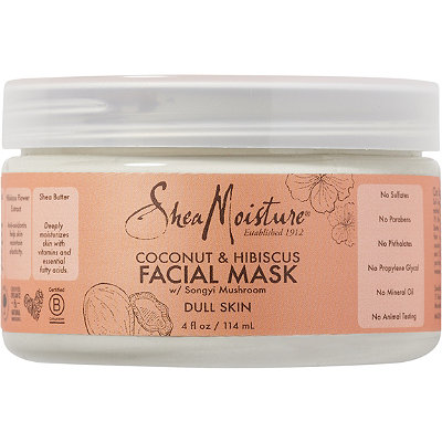SheaMoisture Coconut %26 Hibiscus Facial Mask