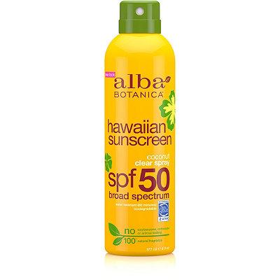 Alba BotanicaHawaiian Coconut Spray Sunscreen SPF 50