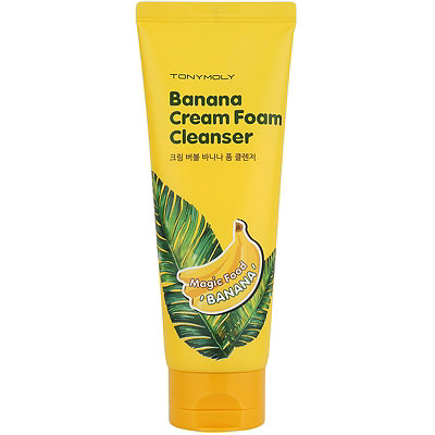 TONYMOLY Magic Food Banana Cream Foam Cleanser