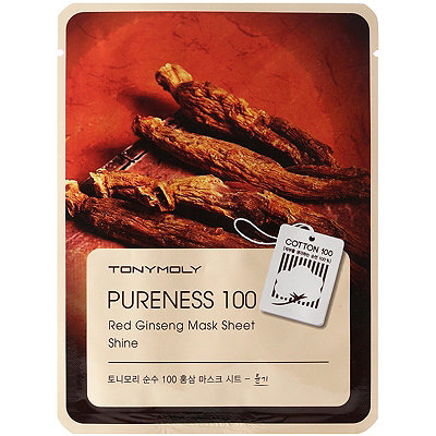 TONYMOLYRed Ginseng Mask Sheet