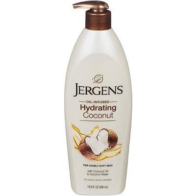 JergensHydrating Coconut Moisturizes %26 Softens Dry Skin Moisturizer