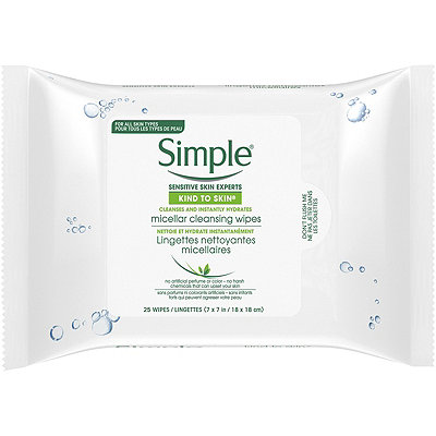 Simple Micellar Make-Up Remover Wipes