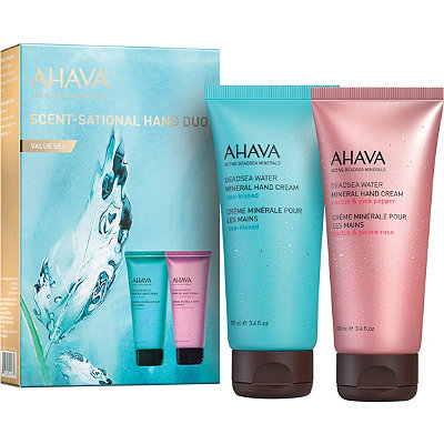 AhavaOnline Only Hand Duo Set Seakissed Mineral %26 Cactus and Pink Pepper