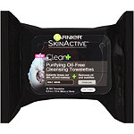 SkinActive Clean %2B Purifying Oil-Free Cleansing Towelettes