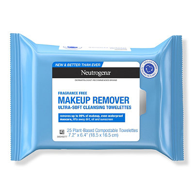 Fragrance Free Makeup Remover Cleansing Towelettes 25ct