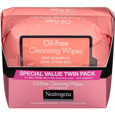 NeutrogenaPink Grapefruit Towelettes Twin Pack