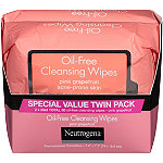 Neutrogena Pink Grapefruit Oil-Free Cleansing Wipes Twin Pack