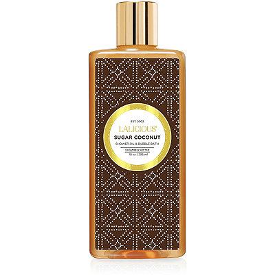 LaliciousSugar Coconut Shower Oil %26 Bubble Bath