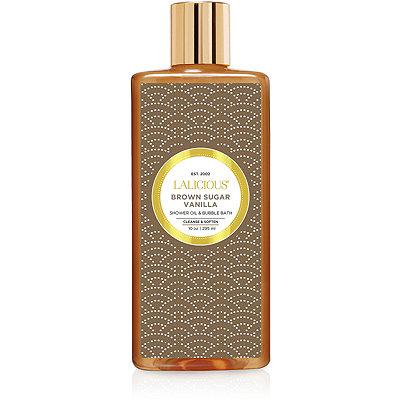 LaliciousBrown Sugar Vanilla Shower Oil %26 Bubble Bath