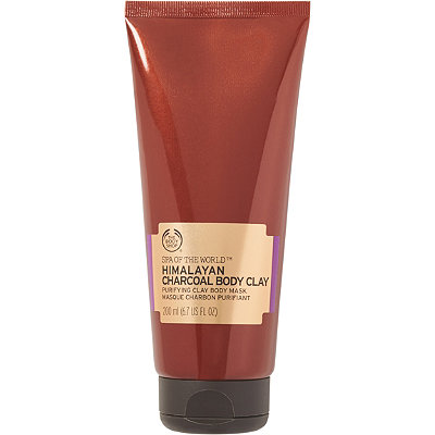 The Body Shop Spa Of The World Himalayan Charcoal Clay Body Mask