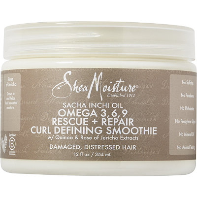 SheaMoisture Sacha Inchi Rescue %26 Repair Curl Defining Smoothie