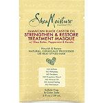 SheaMoisture Jamaican Black Castor Oil Strengthen & Restore Treatment Masque Packette